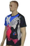 도매 형식 디자인은 주문을 받아서 만들었다 인쇄 압박 t-셔츠 (T011)