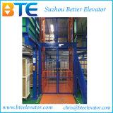 Plataforma de trabajo hidráulica de elevación de carga de tijera