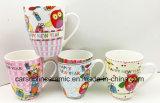 Großverkauf 12 Unze-keramischer neuer Porzellan-Becher mit nettem Entwurf