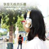 Шум Над-Уха Bt активно отменяя наушники, технологию Aptx Bluetooth 4.1