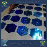 Collant d'hologramme de laser de garantie de numéro de code barres