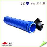 Carcaça azul gorda grande do filtro em caixa de água do RO do plástico