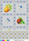 Nuevo diseño popular de PVC transparente claro Impreso Mantel