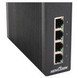 Ports de 4 gigabits et 1 commutateur réseau industriel d'Ethernet de SFP