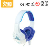 3.5mm au-dessus de l'écouteur stéréo d'écouteurs d'écouteur de PC d'oreille avec la MIC