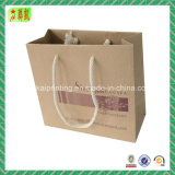 Braunes Packpapier Hangbag mit Custome Drucken