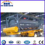 Container van de Tank van het Koolstofstaal ISO van de lage Prijs De Chemische Corrosieve Giftige Vloeibare