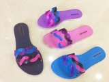 PVCゼリーの女性のスリッパの靴