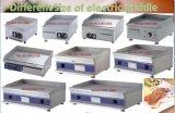 Countertop van het Rooster van 60cm Commercieel Elektrisch Van het Roestvrij staal van Hotplate van de Keuken Ce- Certificaat