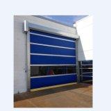 Porte rapide en acier d'obturateur de rouleau galvanisée par sûreté (HF-213)