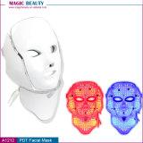 Da máquina leve da terapia da luz do fotão da terapia do diodo emissor de luz A1212 máscara facial para o rejuvenescimento da pele e a remoção do enrugamento