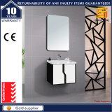Governo bianco della mobilia della stanza da bagno della vernice con il Governo dello specchio