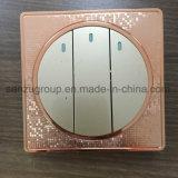 Socket del Pin 13A del doble 3 del estilo del mosaico con el interruptor