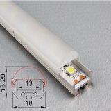 P/N 4224. Perfil de alumínio do diodo emissor de luz do alumínio redondo para a tela de indicador do diodo emissor de luz
