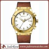 Reloj impermeable del cuarzo del acero inoxidable del hombre de la alta calidad