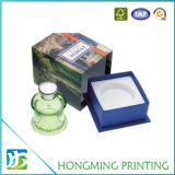 Imballaggio di lusso all'ingrosso della casella del profumo del cartone della trasparenza