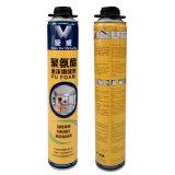 pulverizador branco duro da espuma de poliuretano do plutônio da espuma do elevado desempenho 750ml com alta qualidade
