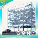 3-6 elevación del estacionamiento del rompecabezas de la Muti-Capa del coche de las capas