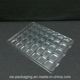 Bandeja transparente blister personalizada para produtos eletrônicos