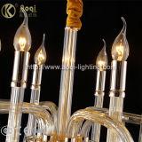 Indicatore luminoso di vetro moderno del lampadario a bracci di arte