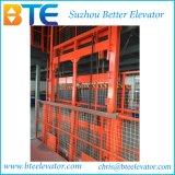 油圧貨物エレベーター作業プラットホームを切りなさい