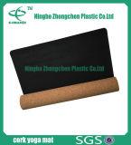 Migliore stuoia della gomma piuma di Eco del sughero della stuoia organica multicolore di yoga