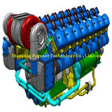 Aro del pistón del motor de Pielstick PA4V 185