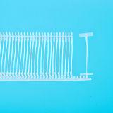 Contactos plásticos de la etiqueta de la ropa al por mayor para la ropa (PS008C-50)
