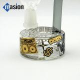 興味深いデザインによって曲げられる首のガラス煙る配水管(ZY 003)