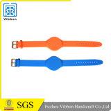 Bracelet imperméable à l'eau réglable d'IDENTIFICATION RF pour promotionnel