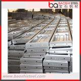 Planche en acier galvanisée pour l'échafaudage de construction