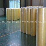 Tissu non-tissé de laminage antibactérien de PE de Green&Yellow pour la combinaison chimique d'éclaboussure