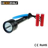잠수를 위한 알루미늄 합금 1000lm Hoozhu 강력한 LED 토치 빛