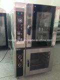 Heiße Tellersegment-elektrischer Konvektion-Backen-Ofen des Verkaufs-5 mit 10 Tellersegmenten Proofer