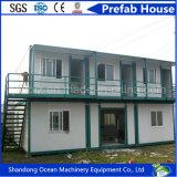 Casa pré-fabricada modular de aço clara do painel de construção e de sanduíche de aço com boa qualidade e preço barato