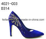 Повелительница High-Heeled ботинки разнообразия, ботинки высоких пяток женщин партии (FFHH111907)