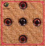 Tecla de madeira de imitação da tecla do sobretudo da tecla 4holes do vestuário