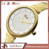 Reloj de los hombres del acero inoxidable de la manera con seguridad plegable del corchete