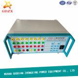 Verificador da proteção do relé do analisador do disjuntor para o equipamento elétrico