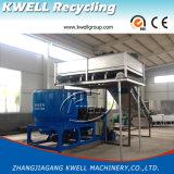 Película Waste do plástico PP/PE/PA que recicl a linha de lavagem
