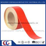 Цветастая напечатанная отражательная пленка для безопасности с кристаллический решеткой (C3500-O)