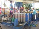 Cadena de producción del panel de pared de la máquina del panel de pared de la espuma para Yemen