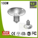 100 vatios Highbay de iluminación de orientación industrial