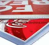 コロナによって扱われる印刷3-6mm PP Coroplast Corflute Correxのボード1220*2440mm