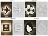 Luz popular da lâmpada de parede do diodo emissor de luz do acrílico para o corredor