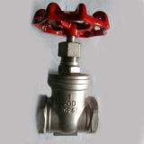 Válvula de porta rosqueada ANSI com 200wog