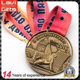 Qualität Sports Goldmedaille mit Abzuglinie
