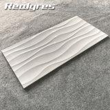 3D стена Tliles Inkjet белая 300X600 Дубай керамическая застекленная