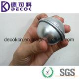 esfera do alumínio de 45mm 55mm 65mm para o molde da bomba do banho