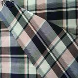 셔츠 복장 Rls50-28po를 위한 100%년 면 포플린 길쌈된 털실에 의하여 염색되는 직물